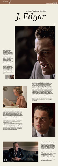 J. Edgar: a story of gossip and deception